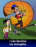 Resilience Poster - I can develop my strengths