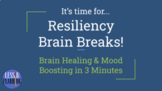 Resiliency Brain Breaks! Editable for Students or Staff Di