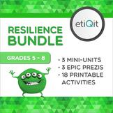 Resilience Middle School Bundle | Prezis & Printable Activities
