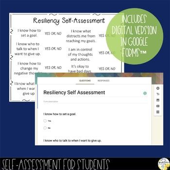 Resiliency Self-Assessment