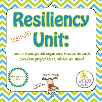 Resiliency Thematic Unit