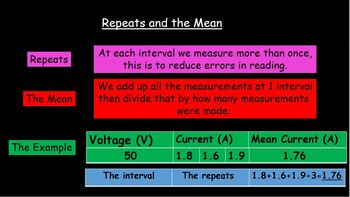 Resistance 3 - 4 lesson prac, thermistor, filament bulb, r