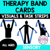 Resistance band / Therapy band exercises for sensory, stre