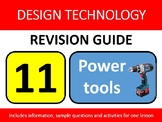 Resistant Materials Wood-Shop Revision Lesson #11: Power T