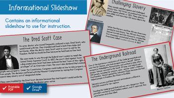 Resisting Slavery Interactive Notebook
