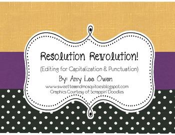 Resolution Revolution (Sentence Editing)