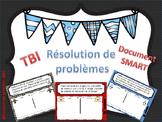 Résolution de problèmes SMART NOTEBOOK