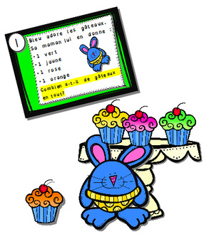 Résolution de problèmes mathématiques:  Opératio petits gâteaux