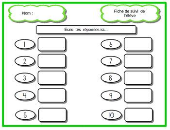 Résolution de problèmes mathématiques:  Opération  petits  poissons
