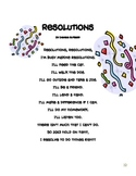 """Resolutions"" A poem and emergent reader for the New Year"