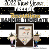 2019 New Year's Resolutions Banner FREEBIE