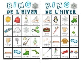 Bingo de l'hiver