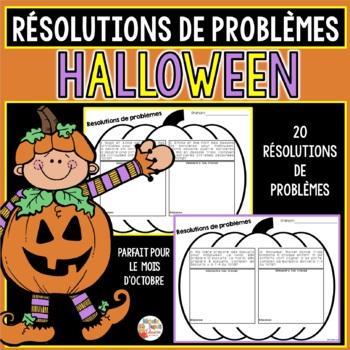 Résolutions de problèmes - Thème: Halloween
