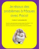 Résolutions de problèmes de Pâques - 2e année
