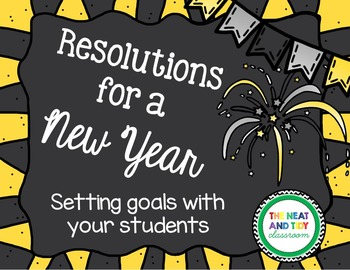 Resolutions for a New Year!