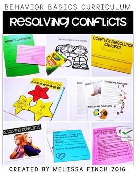 Resolving Conflicts-  Behavior Basics Program for Special Education