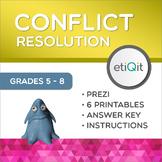 Conflict Resolution Middle School Mini-Unit | Prezi & Printable Activities