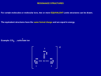 Resonance Structures Explained - Chemistry Review (Presentation & Handout)