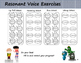 Resonant Voice Exercises and Social Story (Voice Therapy Treatment)