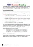 Resource: ASCII Character Encoding