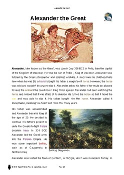 Resource: Alexander the Great