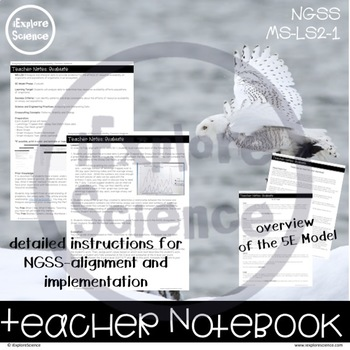 Resource Availability 3D Assessment (NGSS MS-LS2-1)