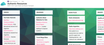 Resource Bank - Authentic Resources En Español #authres
