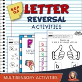 Resource Binder of Activities for Letter Reversals b d p q g