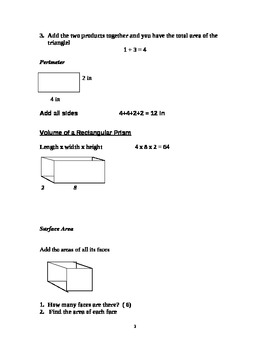 Resource Book for Math Procedures