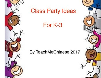 Resource- Class Party Ideas