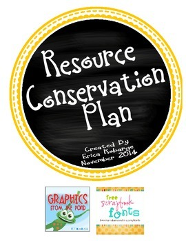 Resource Conservation Plan