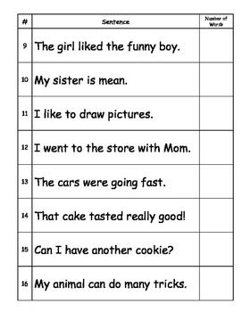 Resource ELA: Word Count