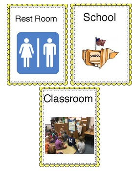 Resource- English School Labels