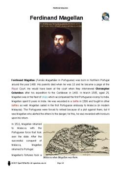 Resource: Ferdinand Magellan