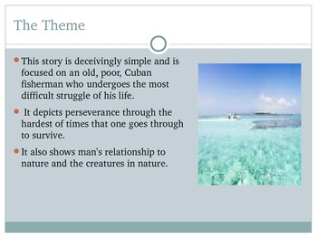Resource For Novel- Old Man And The Sea