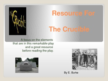 Resource For The Crucible