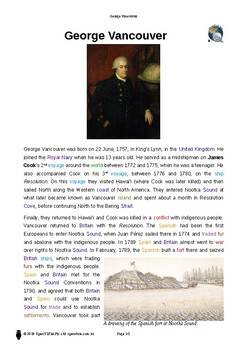 Resource: George Vancouver