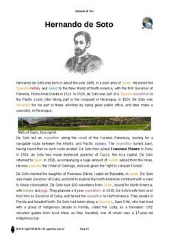 Resource: Hernando de Soto