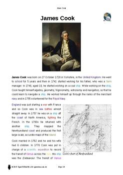 Resource: James Cook