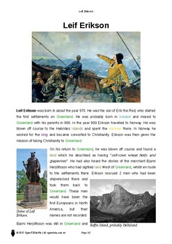 Resource: Leif Erikson