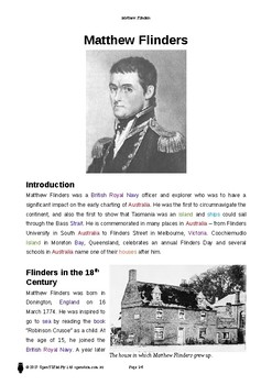 Resource: Matthew Flinders