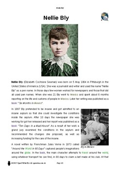 Resource: Nellie Bly