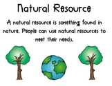 Resource Posters - Natural and Man-Made