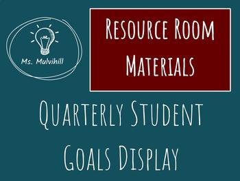 Resource Room Goals