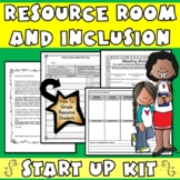Resource Room & Inclusion: Starter Kit with Special Education Grading Rubric