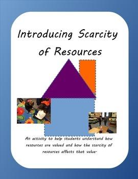 Resource Scarcity Activity