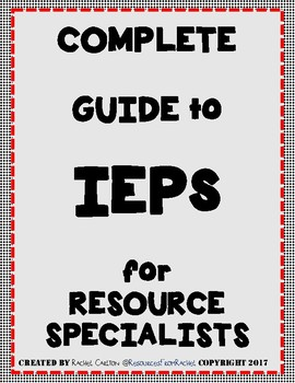 Special Education: Guide to being a Resource Specialist (What, How, and Why)