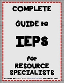 Special Education: Guide to being a Resource Specialist (W