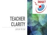 Resource- Teacher Clarity PPT