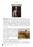 Resource: Walter Raleigh